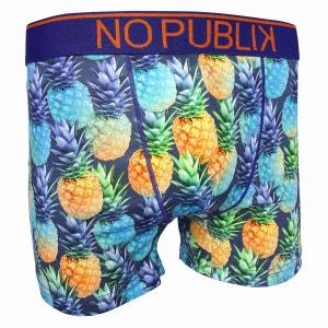 Boxer Microfibre Homme Colored Pineapple NO PUBLIK