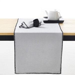 Chemin de table lin/coton uni, ADRIO La Redoute Interieurs image