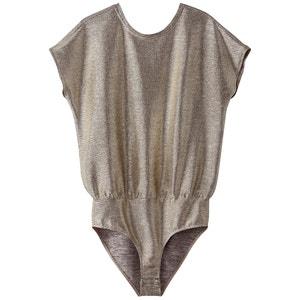 T-shirt body, lamê, costas bonitas MADEMOISELLE R
