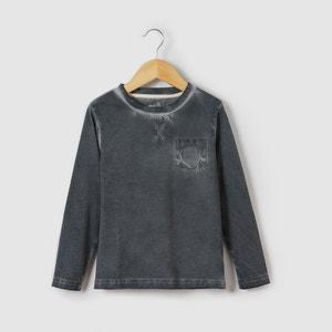 T-shirt manches longues avec poche 3-12 ans abcd'R