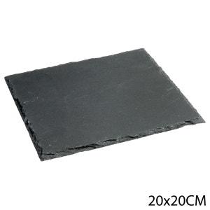 Assiette en ardoise - L. 20 cm B ET W CUISINE