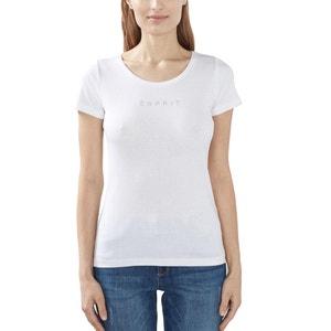 Short-Sleeved Cotton T-Shirt ESPRIT