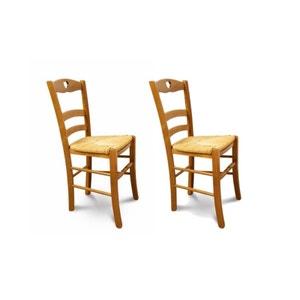 Lot de 2 chaises Silva en hêtre massif HELLIN, DEPUIS 1862