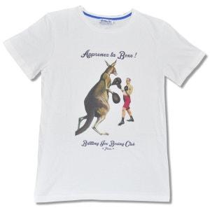 Tee-Shirt Manches Courtes Apprenez la Boxe - fabriqué en France BATTLING JOE