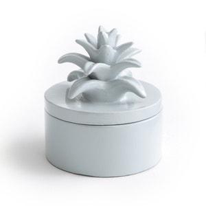Doos met deksel, ananas model, in keramiek, LOUPIA La Redoute Interieurs