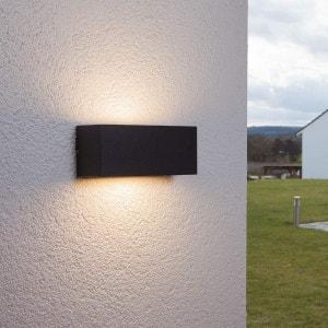 Applique d'extérieur Bente couleur graphite LAMPENWELT