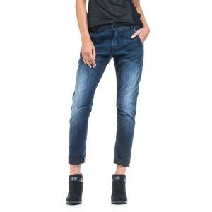 Jeans Judy jambe slim avec trame de couleur SALSA