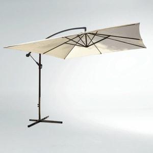 Sombrilla cuadrada con brazo móvil y base La Redoute Interieurs