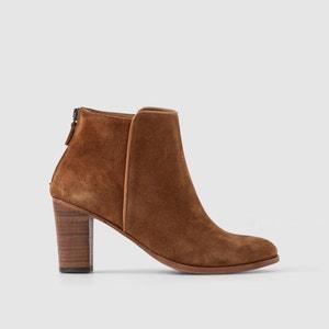Boots CLEA cuir croûte ANTHOLOGY PARIS