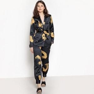 Bedrukt jasje met riem La Redoute Collections