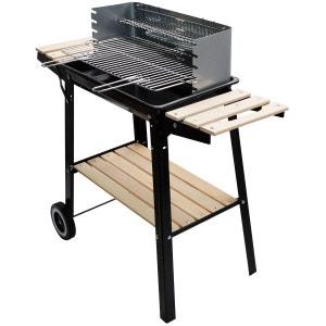 BUFFALO - Barbecue bois ou charbon mobile et pratique CONCEPT USINE