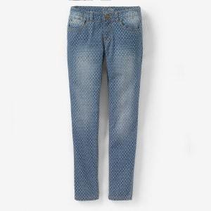 Skinny-Jeans mit geometrischen Aufdruck R teens