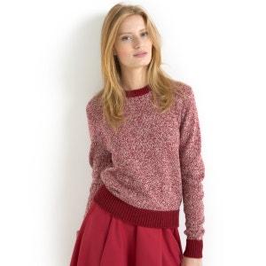 Jersey de punto jaspeado 50% lana SOFT GREY