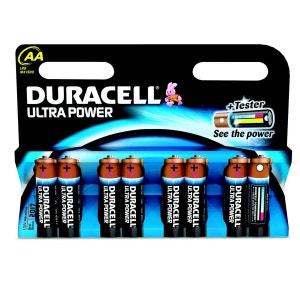 Pile alcalines Ultra M3 LR6 (lot de 8) DURACELL