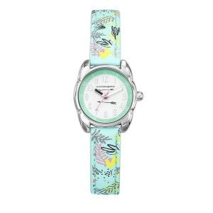 Montre fille Analogique Boitier 24 mm bracelet turquoise Petite Lulu LULU CASTAGNETTE