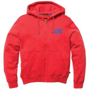 Logo - Sweatshirt à capuche - Homme CATERPILLAR