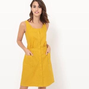 Robe tablier, coton/lin R édition