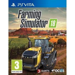 Farming Simulator 18 PSvita FOCUS HOME INTERACTIVE