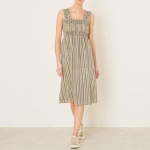 Halblanges Kleid mit Trägern LAURENCE BRAS