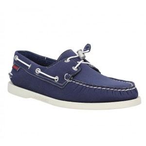 Chaussures bateaux homme SEBAGO Docksides Neoprene  Homme Navy SEBAGO
