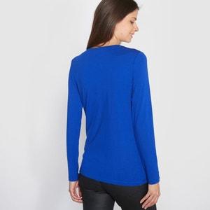 Bedrukt T-shirt in soepel tricot ANNE WEYBURN