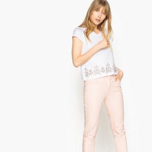 T-shirt gioielli, puro cotone, maniche corte MADEMOISELLE R
