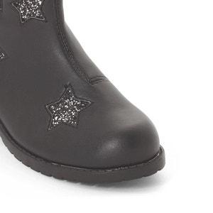 Chelsea boots met sterren, 30-39 La Redoute Collections