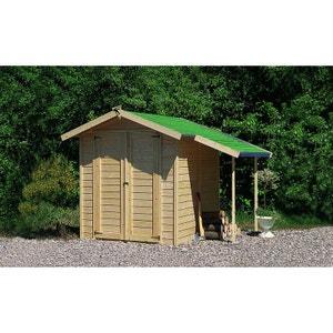 Abri de jardin garage la redoute for Abri de jardin en bois la redoute