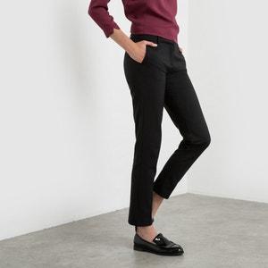 Spodnie z satyny bawełnianej R essentiel
