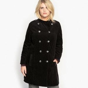 Abrigo estilo casaca de pana CASTALUNA