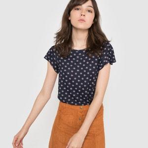 T-shirt com estampado floral La Redoute Collections