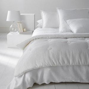 Abella Pre-Washed Linen Quilt La Redoute Interieurs