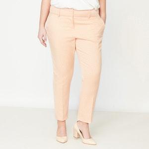 Pantaloni affusolati in jacquard CASTALUNA