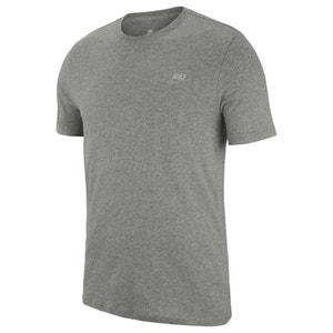 Unifarbenes T-Shirt mit rundem Ausschnitt NIKE