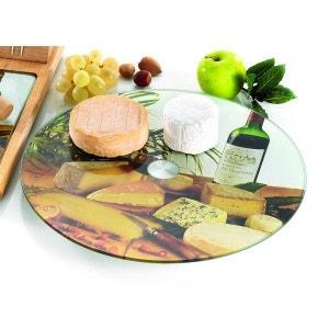 Plateau à fromage tournant en verre TABLE&COOK