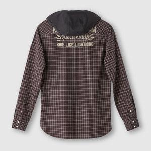 Camisa a cuadros con capucha KAPORAL 5