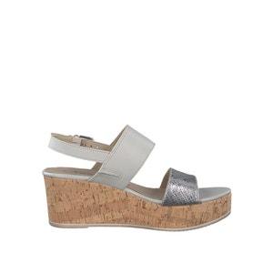 Sandalias con tacón de cuña TAMARIS