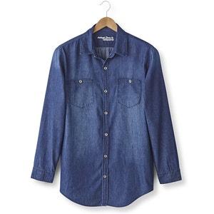 Long-Sleeved Denim Shirt TAILLISSIME