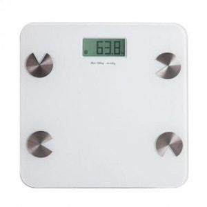 Pèse-personne électronique compatible Bluetooth® DOS103 DOMOCLIP