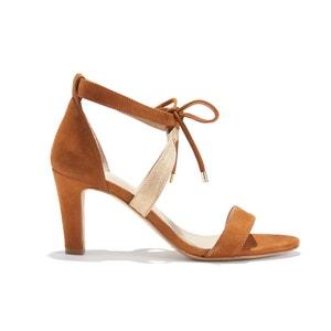 Sandalias con tacón de aguja de piel nobuk L'INOUBLIABLE BOBBIES