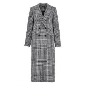 Manteau maxi au motif Prince de Galles HALLHUBER