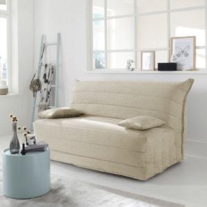 Capa para sofá modelo acordeão BZ , em imitação pelica La Redoute Interieurs