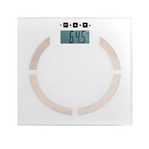 Pèse personne électronique blanche DOM254W DOMOCLIP
