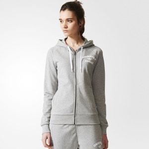 Veste zippee a capuche adidas originals sport femme