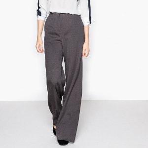 Pantalon large en flanelle La Redoute Collections