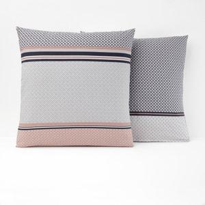 Nayma Single Printed Cotton Pillowcase La Redoute Interieurs
