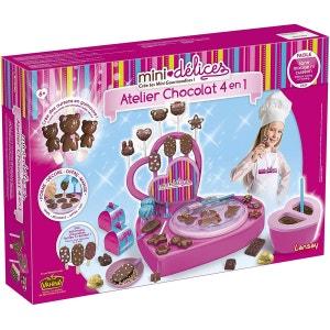 Mini-délices : Atellier Chocolat 4 en 1 LANSAY