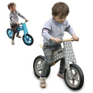 Draisienne en bois, vélo sans pédale avec selle réglable - Marron MONSIEUR BEBE