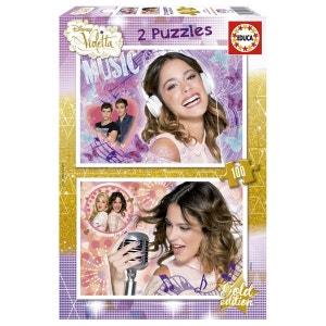 Puzzle 2 x 100 pièces : Violetta EDUCA