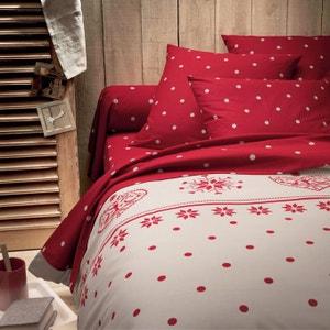 EDELWEISS Cotton Duvet Cover La Redoute Interieurs